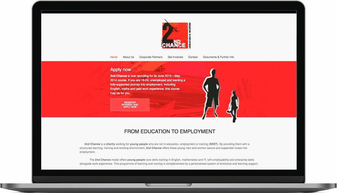2nd Chance   School Website Design