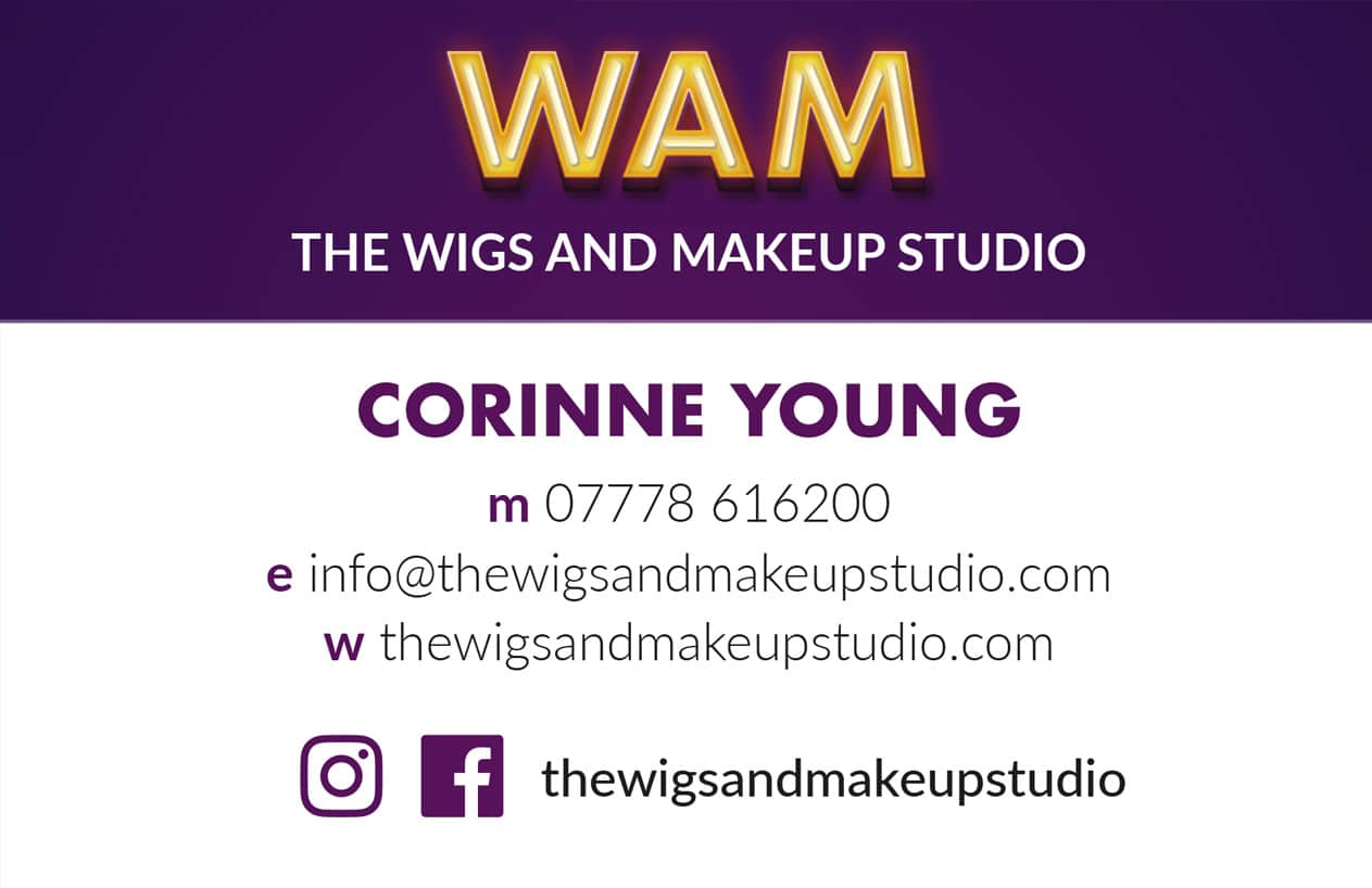 WAM business card design