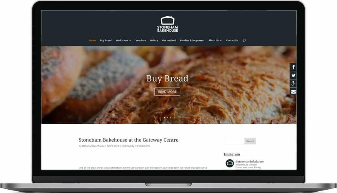 Bakehouse | Community Website Design