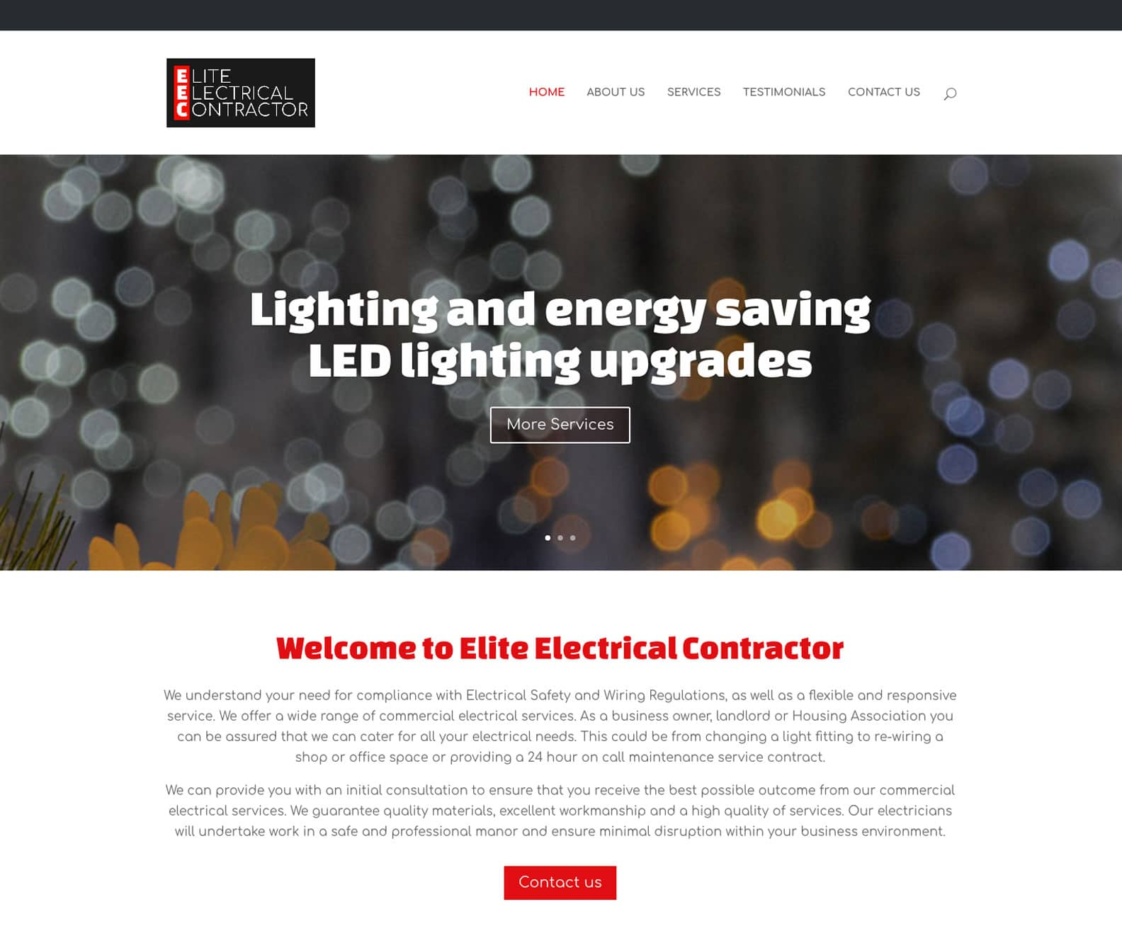 Illuminating | new web and logo design for EEC