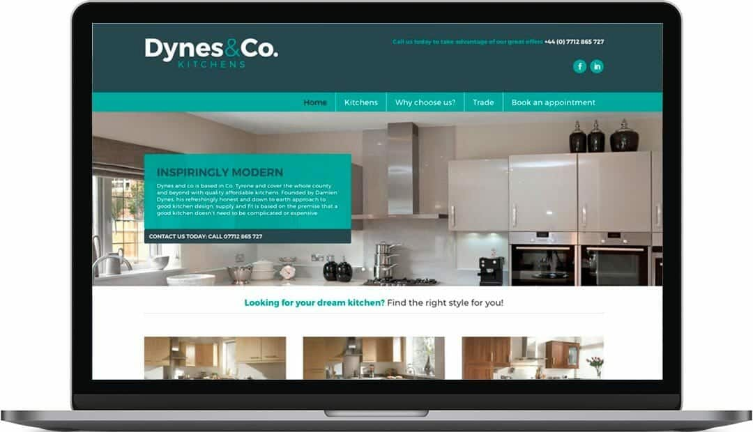 Dynes & Co Web Design and Build | Kitchen Supplies