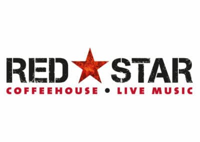Red Star CofeehouseLogo Design