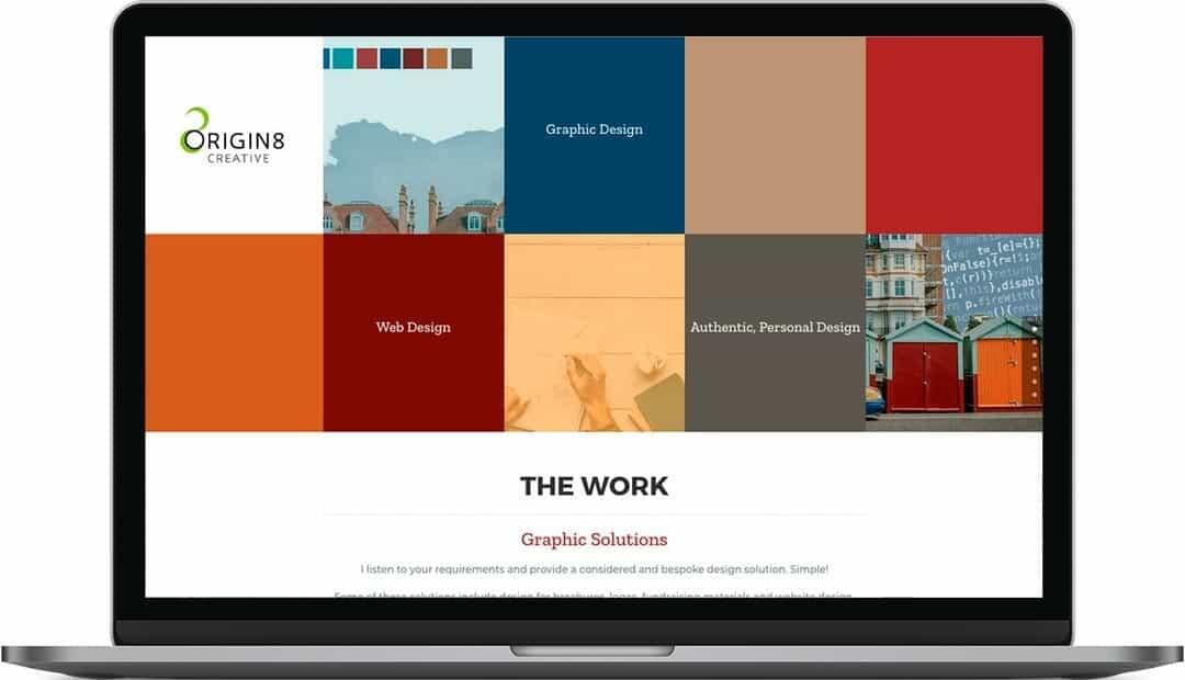 origin8 creative   Graphic Design Website