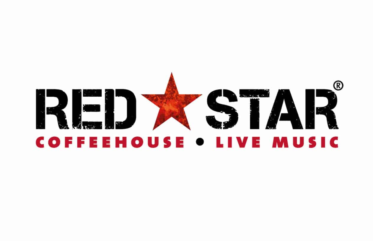 Red Star Coffeehouse logo design
