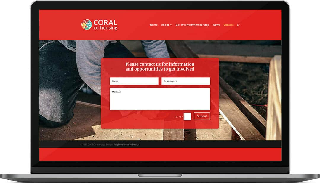 caoral-co-housing-contact-website-design