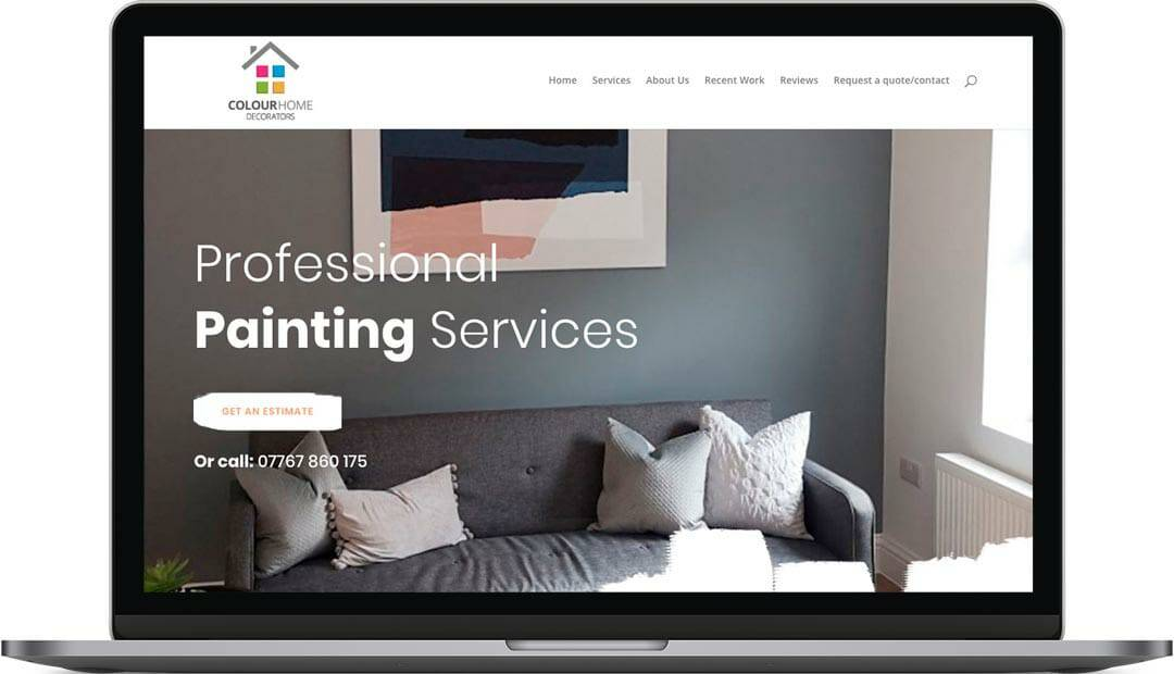 A fresh lick of paint!   Small Business Website Design