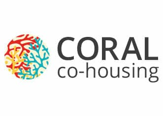 Coral Co-Housing, Brighton Logo