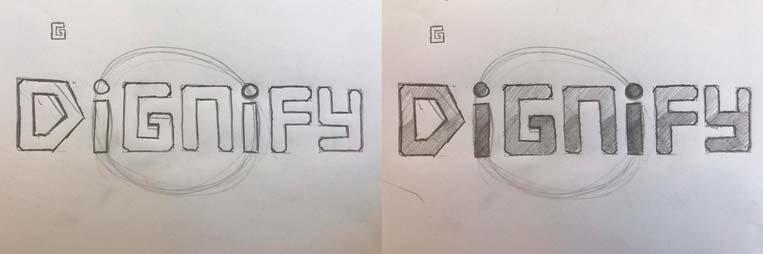 Dignify Logo Design