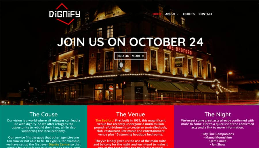 Spotlight | How we created the dignify.eu website
