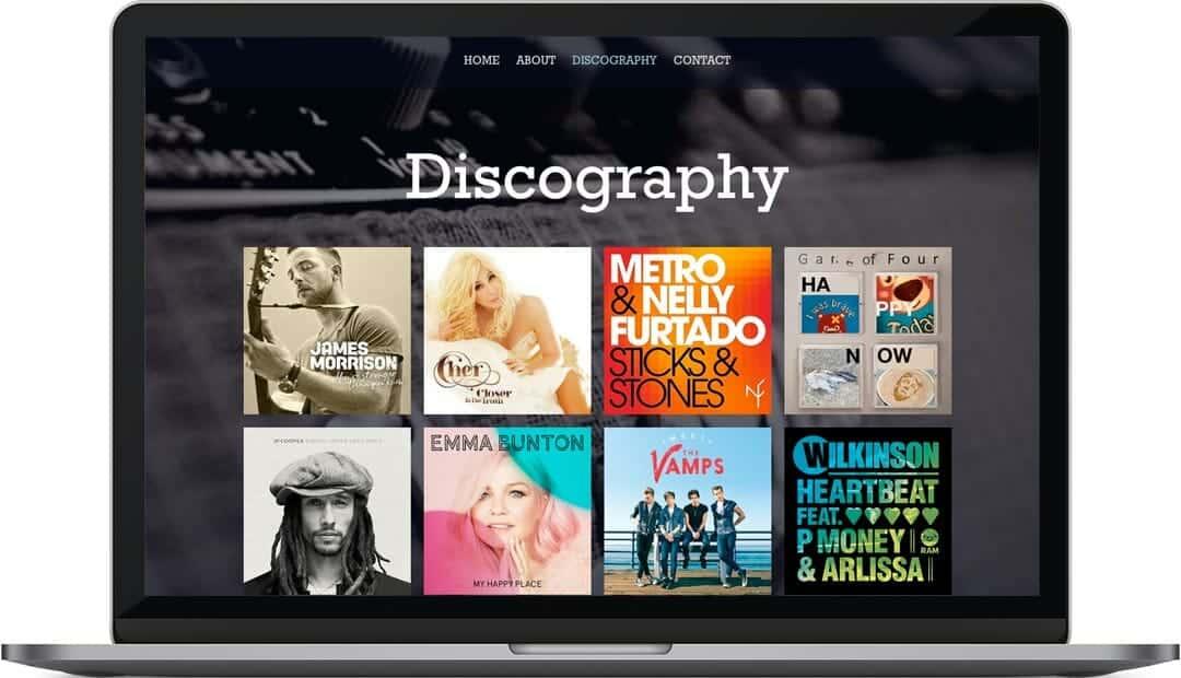 Patrick-Mascall-web-design-discography
