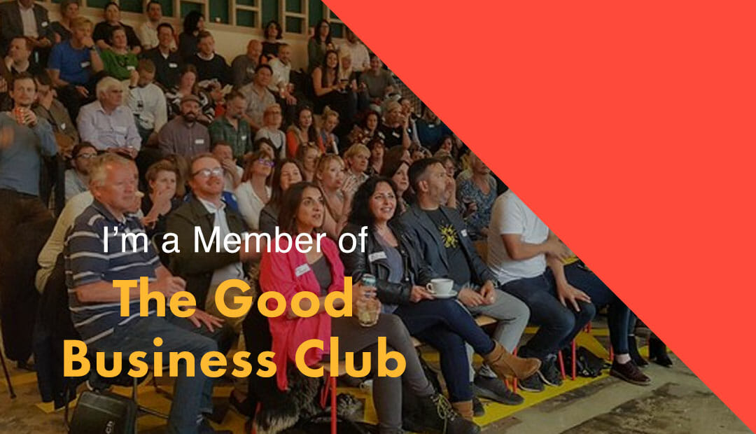 The Good Business Club in Brighton Membership badge