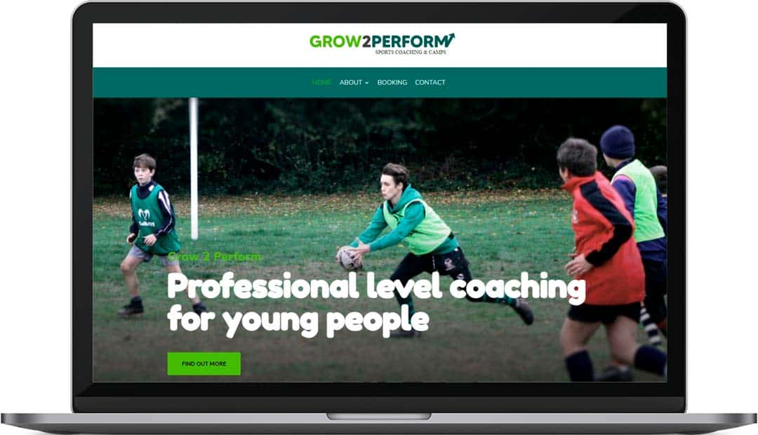 Grow2Perform | Rugby Coaching Website