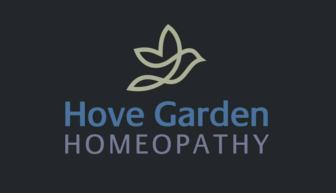 Hove Garden Homeopathy Logo Design
